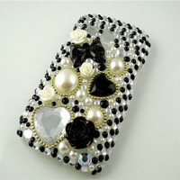 For Samsung Galaxy S3 Mini i8190 Bling Diamond Case Crystal Rhinestone Cover Design O