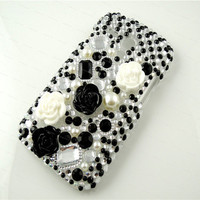 For Samsung Galaxy S3 Mini i8190 Bling Diamond Case Crystal Rhinestone Cover Design L
