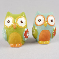 PLASTICLAND - Give a Hoot Salt Shaker Set