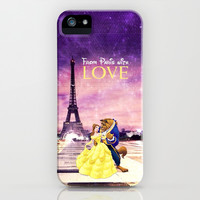 From Paris with love - for iphone iPhone & iPod Case by Simone Morana Cyla