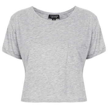 Roll Pocket Crop Tee