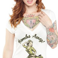 Bombs Away V-Neck | Blame Betty