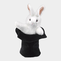 Animal Puppet - Rabbit in a Hat | MoMA