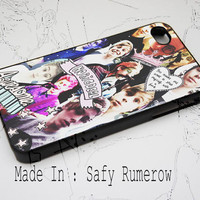 Luke Hemmings Collage iPhone Case 4 & 4s,iphone 5, iPhone 5c , iPhone 5s Samsung S3 Samsung S4 By AxogyRumerow