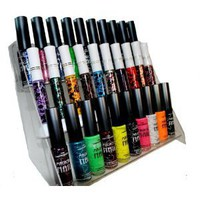 Amazon.com: Elegant 30 Piece Color Nail Lacquer with Display Rack (Nail Art Brush Style) Combo Set + 6 Sets of Scented Nail Polish Remover - Magical: Health &amp; Personal Care