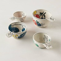 Garden Sketch Measuring Cups