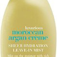 Luxurious Moroccan Argan Creme Sheer Hydration Leave-In Mist