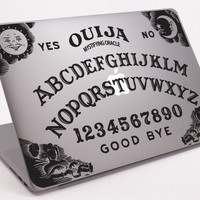 "Ouija Board Laptop Notebook Macbook Decal 11"" 13"" 15"" 17"" (DM-0258)"