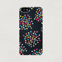 Colourful Confetti Fireworks iPhone 4 4s 5 5s 5c Case