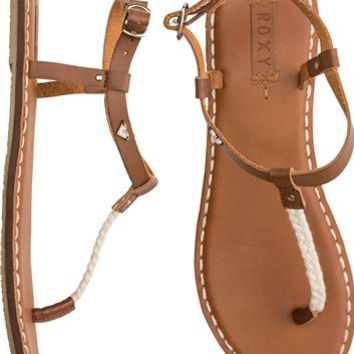 ROXY SPARROW BRAIDED T STRAP SANDAL