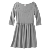 Mossimo Supply Co. Junior's 3/4 Sleeve Fit & Flare Dress - Assorted Colors