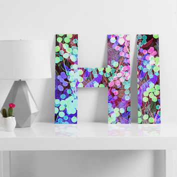 Nick Nelson Dots And Leaves Decorative Letters