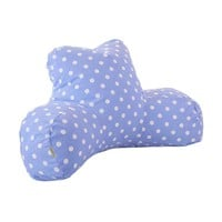 Printed Reading Pillow - Small Polka Dots - Lavender