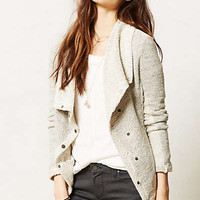 Draped Moto Jacket