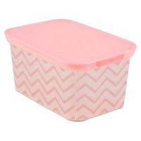 Circo™ Amsterdam Bin - Set of 3 - Pink Chevron