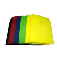 Paper Sleeve CD/DVD Multi Color - Red, Green, Blue, Yellow, Black - 100 Sleeves