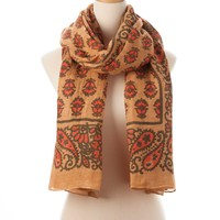 Rose Multi Biloxi Tie All Scarf - Scarves - Shop | Theodora & Callum