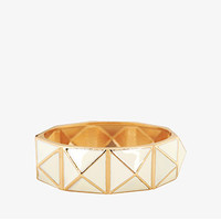 Pyramid Hinge Bangle