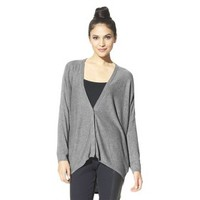 labworks Women's Long-Sleeve Cardigan Sweater - Granite Gray