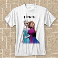 frozen T-shirt WHITE t shirt