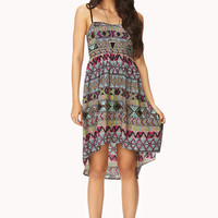 Boho Babe High-Low Dress