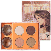 Sephora: Benefit Cosmetics : World Famous Neutrals - Most Glamorous Nudes Ever : eyeshadow-palettes
