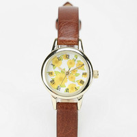 Lovely Sunflowers Watch - Urban Outfitters