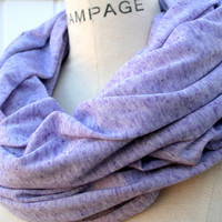 Purple Scarf Free Shipping Infinity Scarf Acid Washed by PIYOYO
