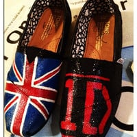 ONE DIRECTION custom toms shoes
