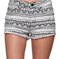 Bullhead Denim Co Tribal Fray Hem Shorts at PacSun.com