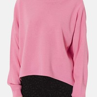 Topshop High/Low Knit Sweater | Nordstrom