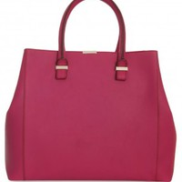 Boutique 1 - VICTORIA BECKHAM BAGS - Pink Liberty Tote Bag | Boutique1.com