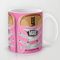 Cute pink Vans all star baby shoes apple iPhone 4 4s 5 5s 5c, ipod, ipad, pillow case and tshirt Mug by Three Second