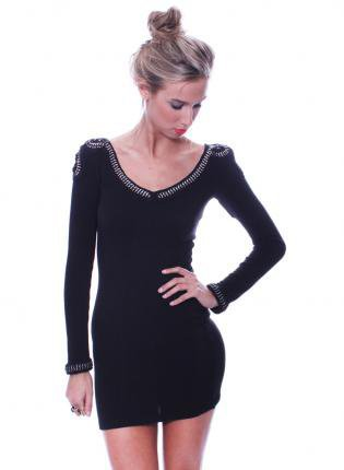 Body  Dress on Black Little Black Dress   Black Stretch Body Con Dress   Ustrendy On