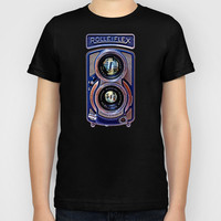 classic retro Rolleiflex Dual lens camera iPhone 4 4s 5 5c, ipod, ipad, tshirt, mugs and pillow case Kids T-Shirt by Three Second