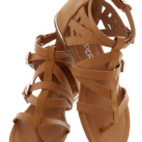 Key to Strappiness Sandal | Mod Retro Vintage Sandals | ModCloth.com