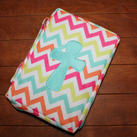 Rainbow Chevron Bible Cover