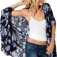 TIGERLILY NOMADIC KIMONO  Womens  Clothing  Shirts  Tops | Swell.com