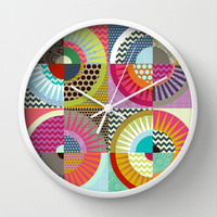 New York Beauty Wall Clock by Sharon Turner