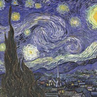 Vincent Van Gogh (The Starry Night) Art Poster Print