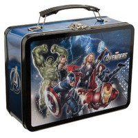 Vandor Marvel The Avengers Large Tin Tote, 7 by 9 by 3-1/2-Inch, Multicolored