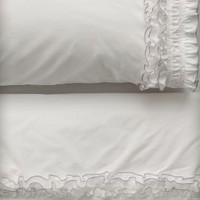 Ruffled Sheet Set - Anthropologie.com