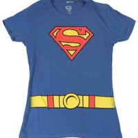 Supergirl - Costume Juniors T-Shirt