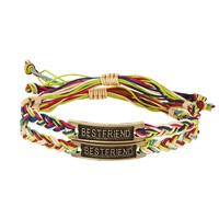 Best Friend Cord Bracelet 2-Pack