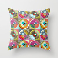 New York Beauty Throw Pillow by Sharon Turner