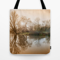 TREE - FLECTION 2 Tote Bag by Catspaws