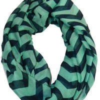Cambridge Select Chevron Scarf Zig Zag Infinity Colorful Soft Spring Shawl Wrap