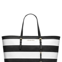 MICHAEL Michael Kors 'Jet Set - Medium' Saffiano Leather Travel Tote | Nordstrom