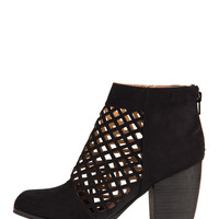 Netted Ankle Boots