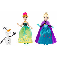Walmart: Disney Frozen Small Doll Character 3-Pack Set